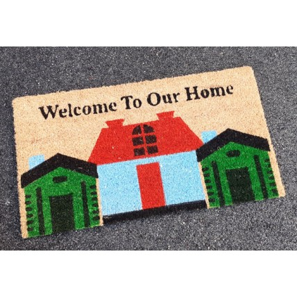 Tappeto zerbino Welcom to our Home