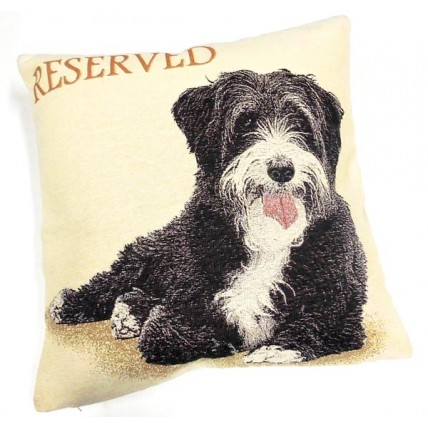 Cuscino con Terrier